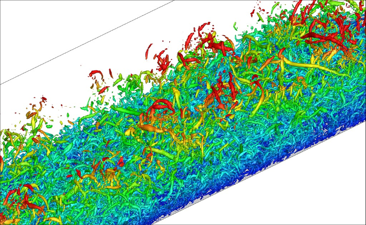 Turbulent Superstructures in a Flat-Plate Boundary Layer