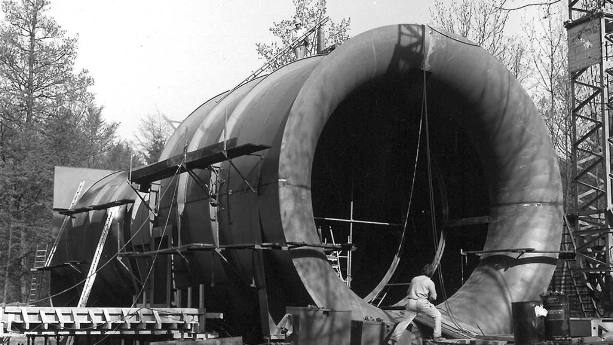 Construction of the gust wind tunnel