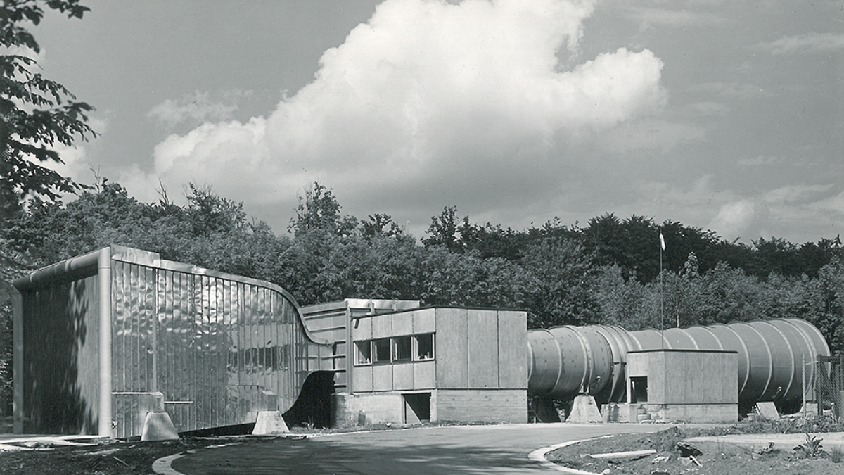 Construction of the laminar wind tunnel