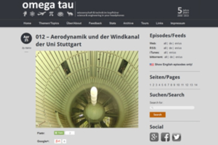 Aerodyamik und der Windkanal der Uni Stuttgart