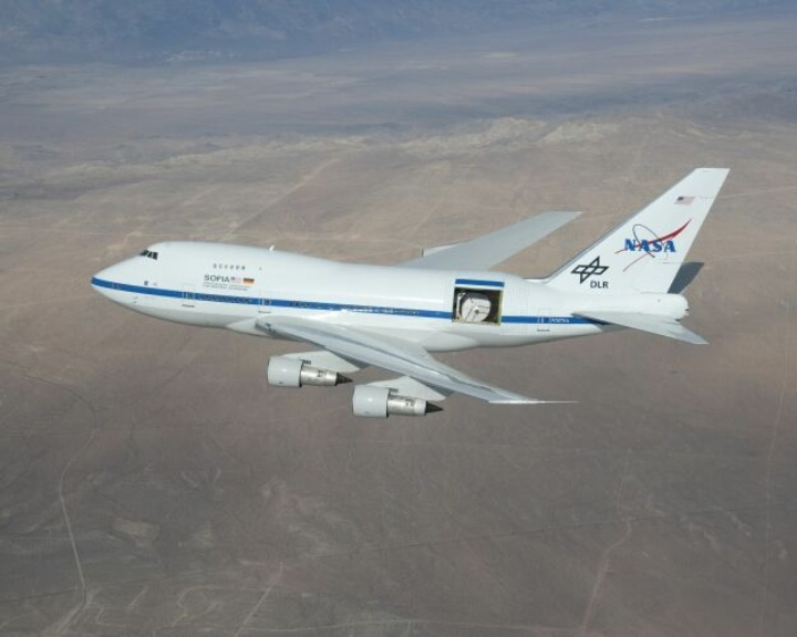 SOFIA open door test flight courtesy of NASA (c)